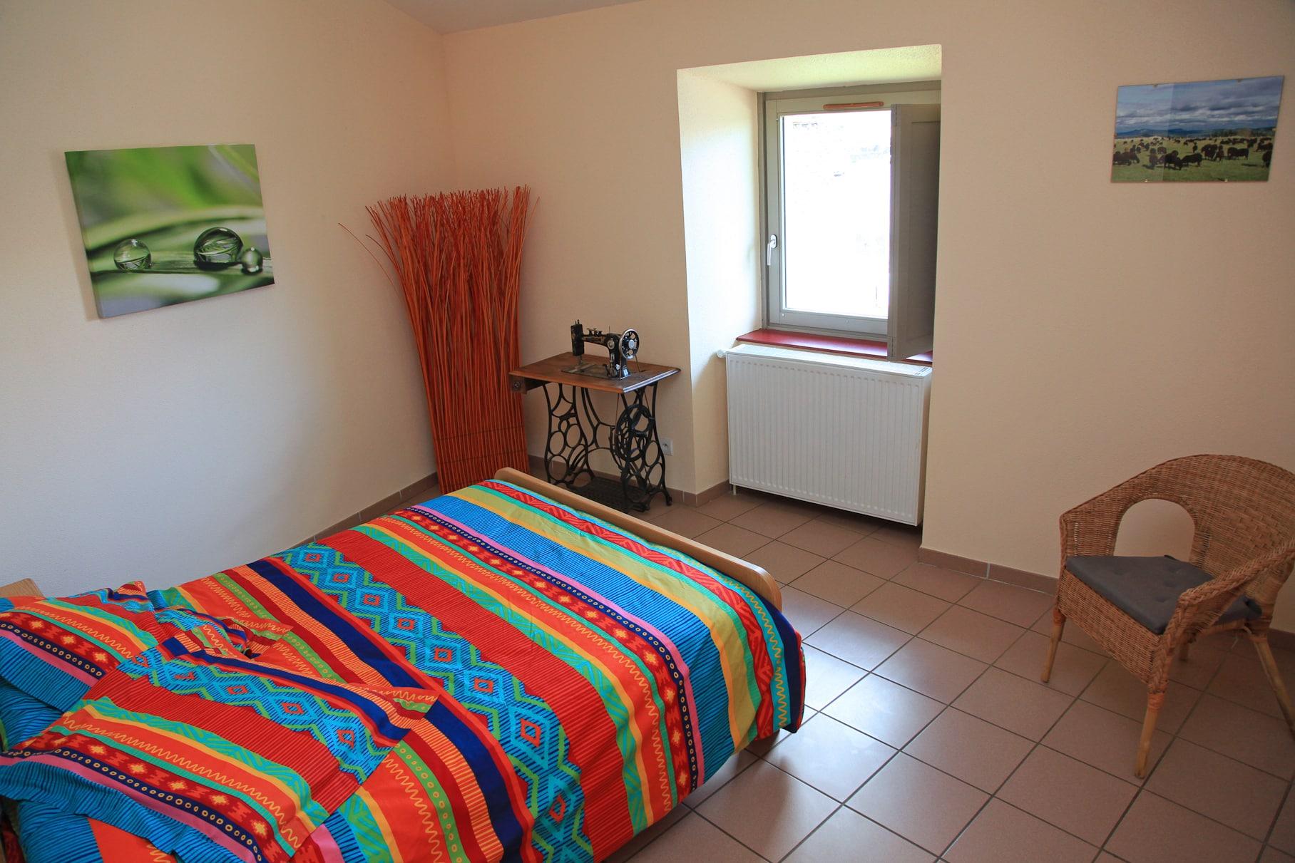 Pr sentation des chambres g te la retirade - Quelle huile essentielle contre les punaises de lit ...