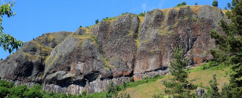 Les orgues basaltiques dans les gorges de l'Allier (à 15 minutes du gîte)